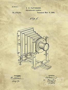 Tina Lavoie - Industrial Farmhouse Camera Blueprint 1888