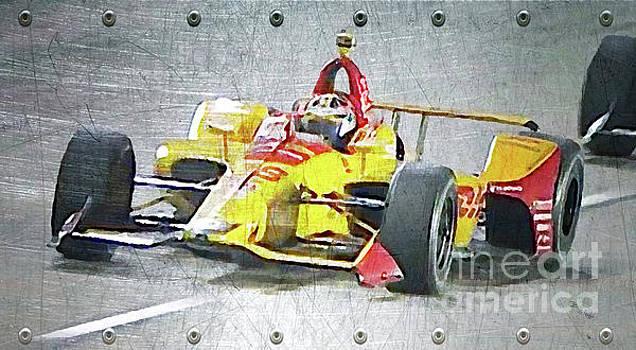 Indy Car Steel by Billy Knight