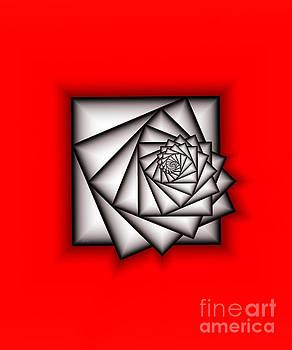 Infinity On Red by Galina Lavrova