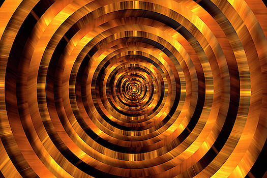 Pelo Blanco Photo - Infinity Tunnel Circles The Light at the End of the Tunnel