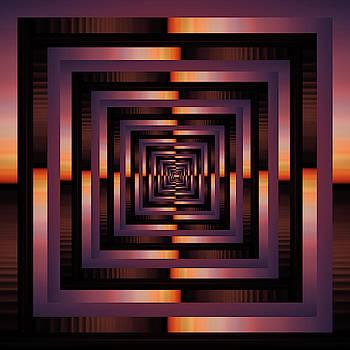 Pelo Blanco Photo - Infinity Tunnel Sunset