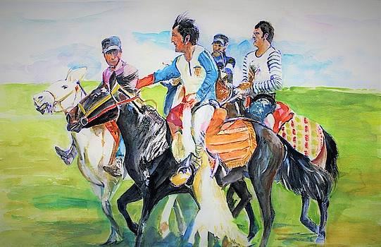 Inherited skills by Khalid Saeed