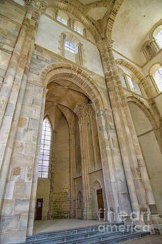 Patricia Hofmeester - Interior abbey cluny in France