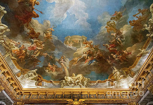 Wayne Moran - Interior Ceilings Amazing Paintings Palace of Versailles Paris France