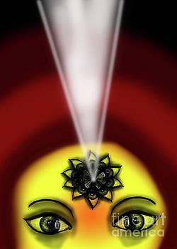 Internal Eye Vision Light by Artist Nandika Dutt