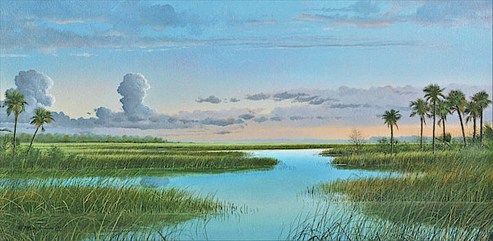 Intracoastal Sunset by Mike Brown