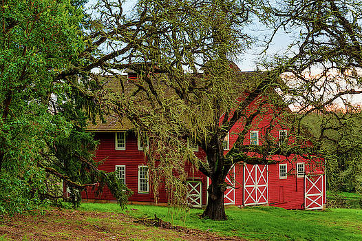 Inviting Country Scene by Dee Browning