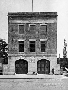 Inwood Firehouse 1918 by Cole Thompson