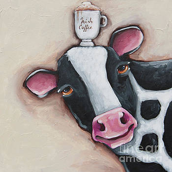 Irish Coffee Cow by Lucia Stewart