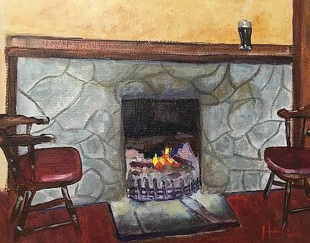 Irish Pub by Marcia Hero