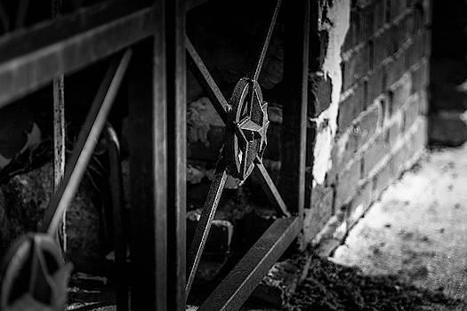 Iron Gate in BW by Doug Camara