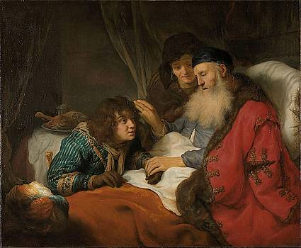 Isaac Blessing Jacob, c. 1638 by Govert Flinck