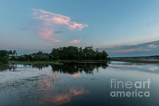 Island Clouds by Dale Powell