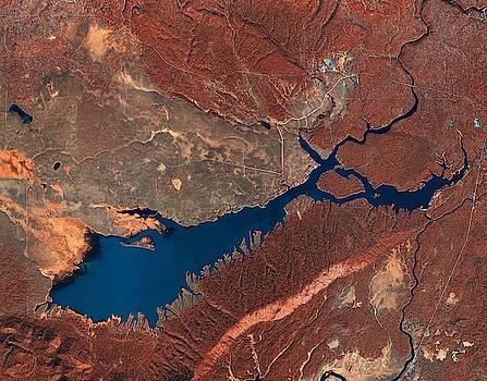 Island Park Reservoir in Idaho by Planet Impression