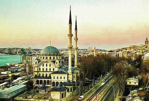 Istanbul by Maria Coulson