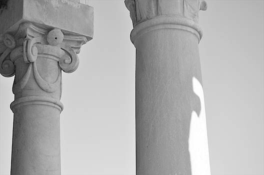 Marla McPherson - Italian Architecture - Black and White
