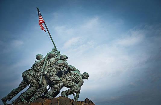 Iwo Jima in Arlington by Dawn Wayand