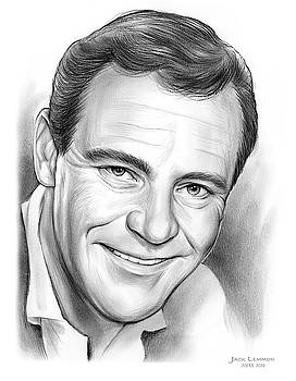 Jack Lemmon by Greg Joens