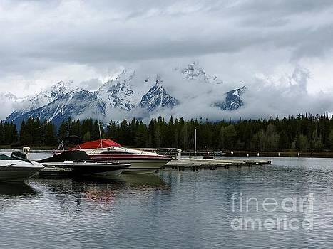Jackson Lake Grand Teton National Park Wyoming by Art Sandi