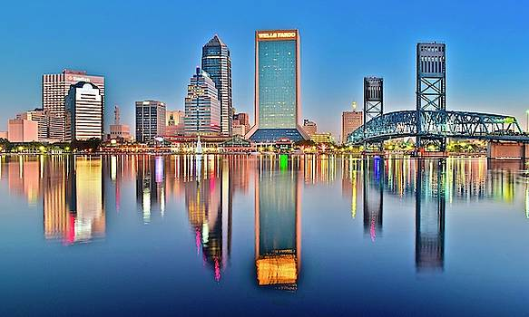 Frozen in Time Fine Art Photography - Jacksonville Alight and Aglow