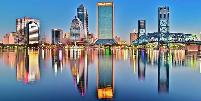 Frozen in Time Fine Art Photography - Jacksonville Reflecting