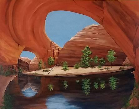 Jacob Hamblin Arch by Danett Britt