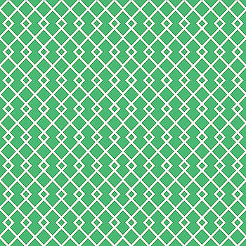 Jade Green Diamond Pattern by Ross
