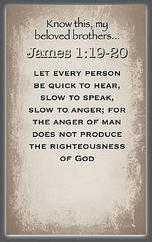 James 1 19 20 by David Norman