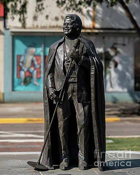James Brown Statue - Augusta Ga 2 by Sanjeev Singhal