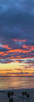 January Sunset - Vertirama 3 by Gene Parks