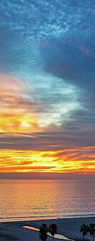 January Sunset - Vertirama by Gene Parks