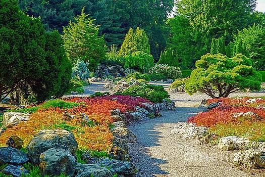 Japanese Garden by Susan Rydberg