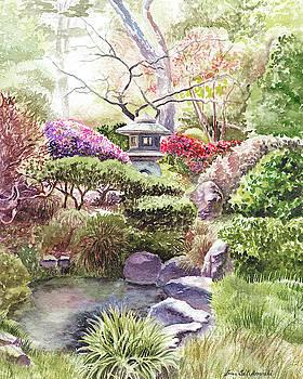 Japanese Tea Garden San Francisco Golden Gate Park by Irina Sztukowski