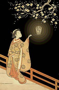 Japanese Woman Rise Rubino Light by Tony Rubino