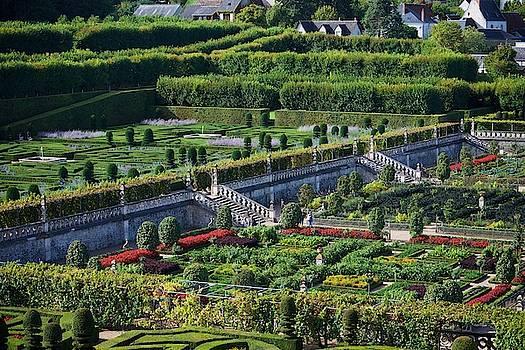 Jardin Villandry by Eric Tressler
