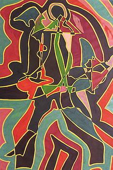 Jazz Music II by Edward Kofi Louis