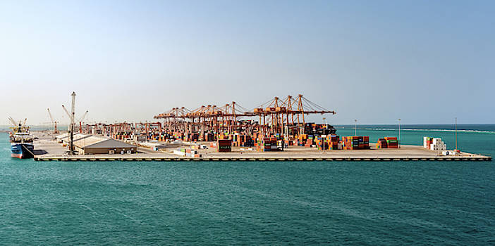 Jeddah Seaport by William Dickman