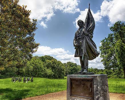 Susan Rissi Tregoning - Jefferson Davis - Vicksburg Military Park