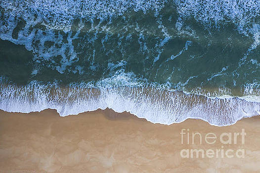 Jersey Shore From Above by Michael Ver Sprill