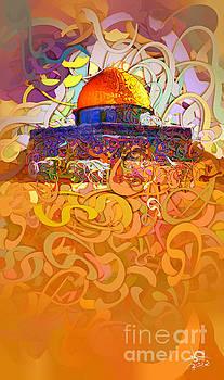 Jerusalem - aqsa 2 by Imad Abu shtayyah