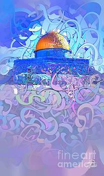 Jerusalem-Aqsa 3 by Imad Abu shtayyah