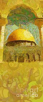 Jerusalem-Aqsa 8 by Imad Abu shtayyah