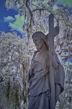 Jesus Graveyard Statue by Jon Glaser