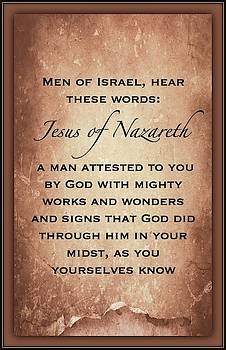 Jesus Of Nazareth by David Norman