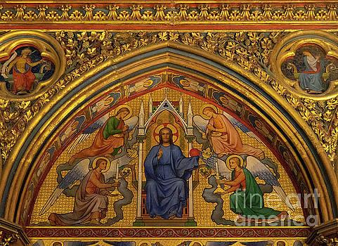 Wayne Moran - Jesus on the Throne Sainte Chapelle Paris France