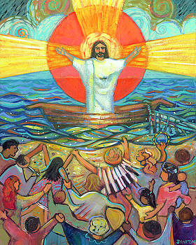 Jesus Preaches to the Choir by Jen Norton