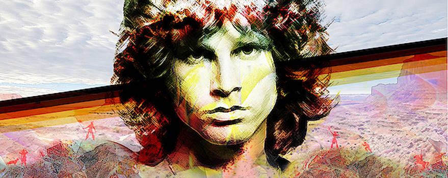 Jim Morrison by Felipe Navega