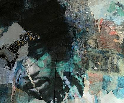 Jimi Hendrix Collage by Paul Lovering