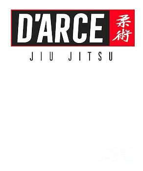 Jiu Jitsu Black Belt Darce Dark Gift Martial Arts BJJ by J P