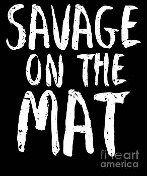 Jiu Jitsu Savage On The Mat Light by J P